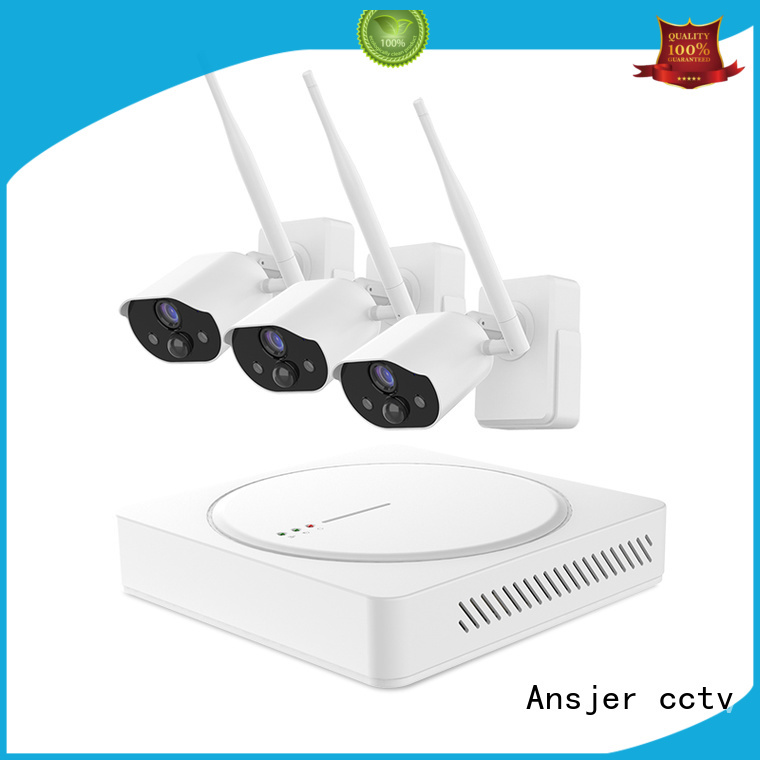 smart home surveillance wireless for home Ansjer cctv