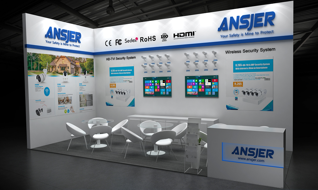 Ansjer-2019 Dubai Intersec | Video Surveillance System-1