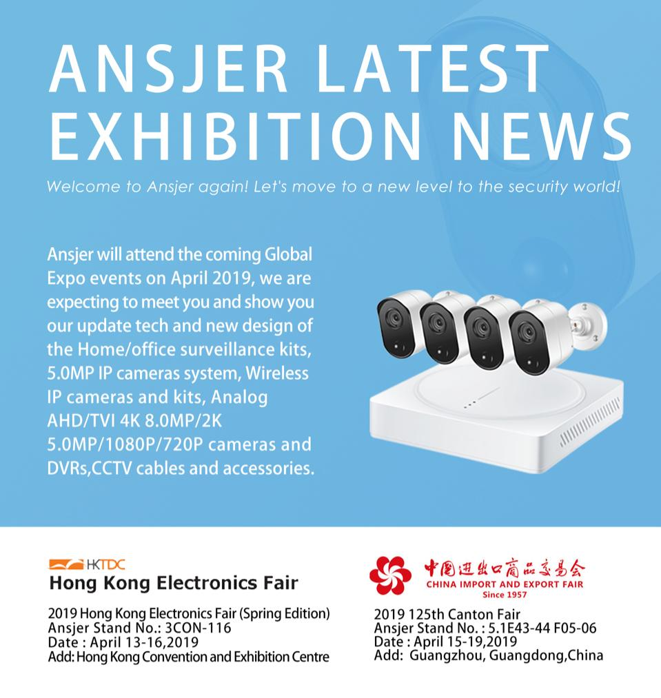 Ansjer-2019 Hong Kong Electronics Fair Spring Edition-1