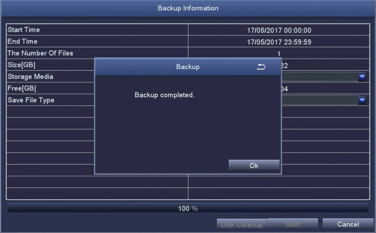 Ansjer-How To Backup The Dvr Video, Ansjer Electronics Co, Ltd-4