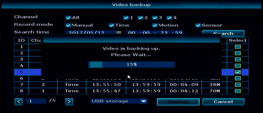 Ansjer-How To Backup The Nvr Video, Ansjer Electronics Co, Ltd-4