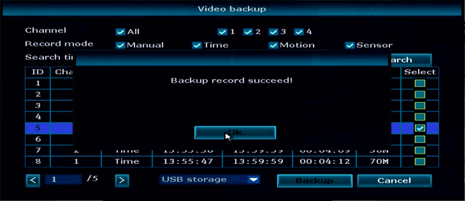 Ansjer-How To Backup The Nvr Video, Ansjer Electronics Co, Ltd-5