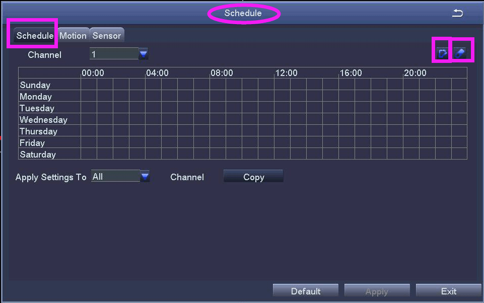 Ansjer cctv-How To Set Up Record And Playback On Ansjer Dvr-8