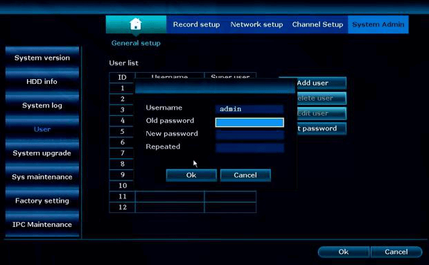 Ansjer cctv-How To Reset Nvr's Password works For Zr04jb, Zr08kb And Zr08qb Nvr System-3