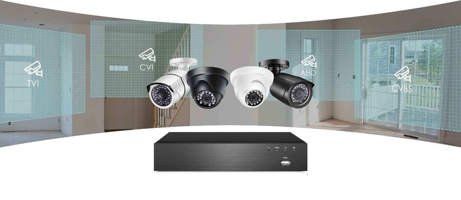 electric 4k security system alert manufacturer for home-22