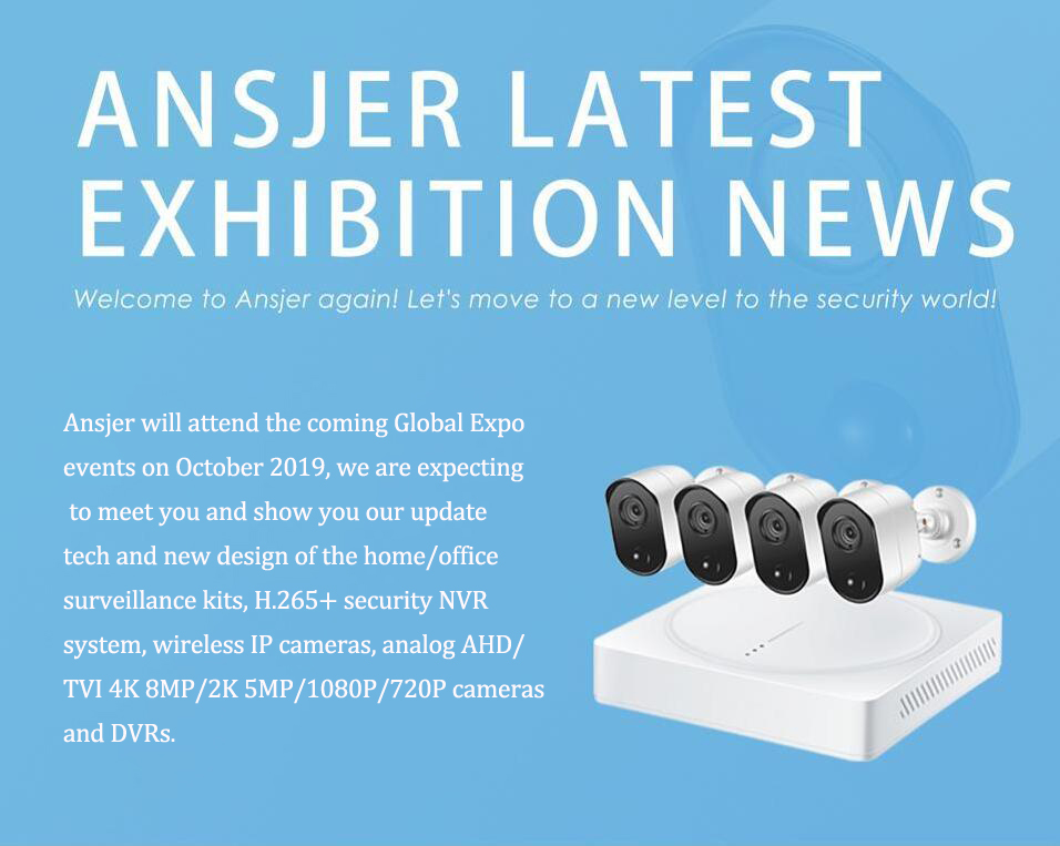 Ansjer cctv-126th China Import and Export Fair Canton Fair