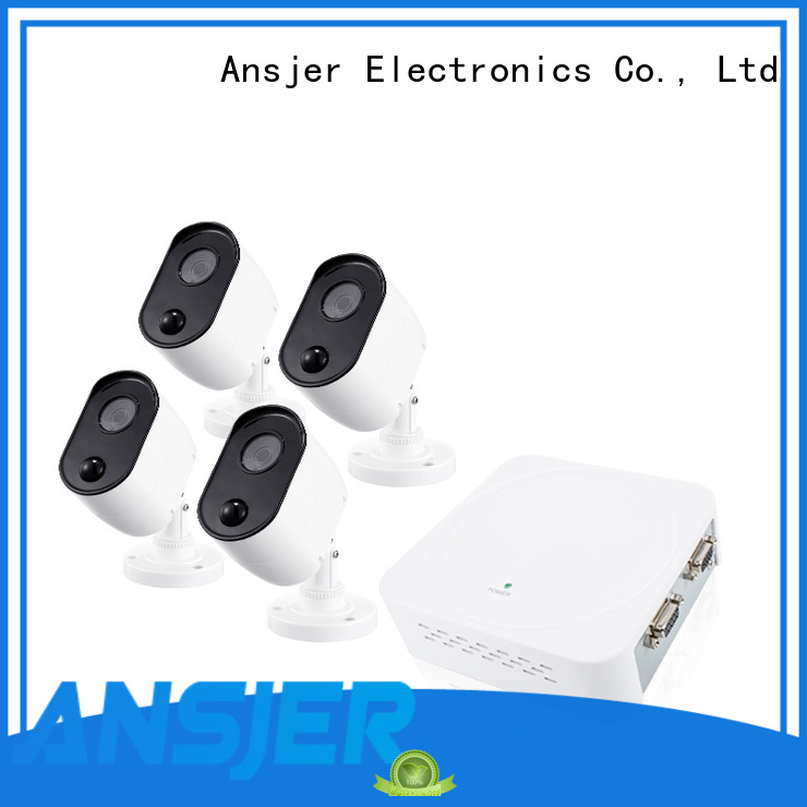 Ansjer cctv vision 1080p security camera system wholesale for home