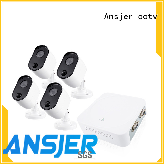 Ansjer cctv security 1080p security camera system series for office