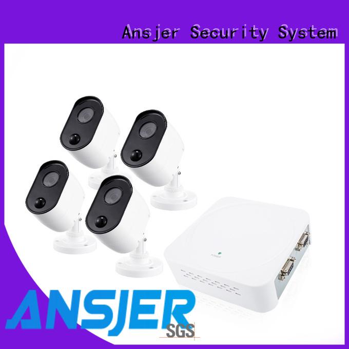 Ansjer cctv motion 1080p cctv camera system manufacturer for surveillance
