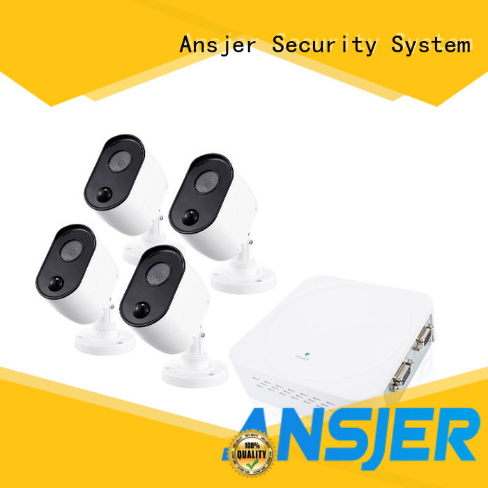 Ansjer cctv outdoor 1080p dvr security system wholesale for indoors or outdoors