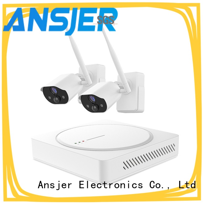 Ansjer cctv best smart home security system supplier for office