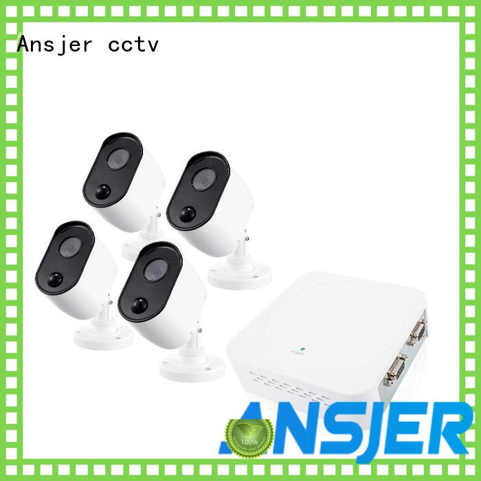 Ansjer cctv security 1080p dvr security system manufacturer for surveillance