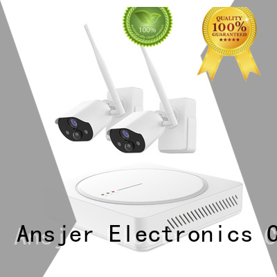 high quality smart home security kit supplier for indoors or outdoors Ansjer cctv
