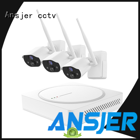 Ansjer cctv high quality simply smart home security manufacturer for indoors or outdoors
