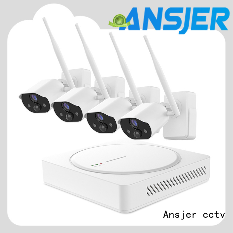Ansjer cctv wire-free simply smart home security series for office