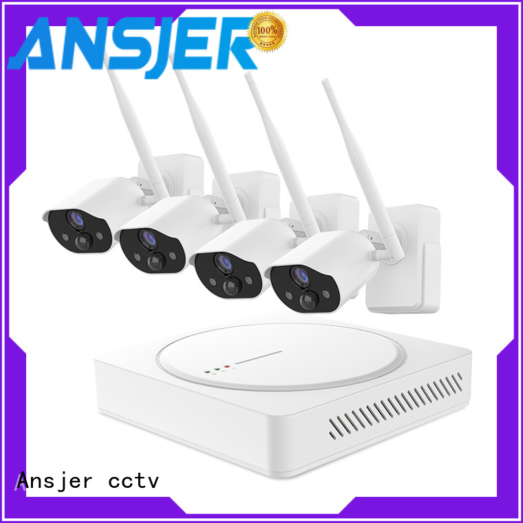 Ansjer cctv camera smart home security series for indoors or outdoors
