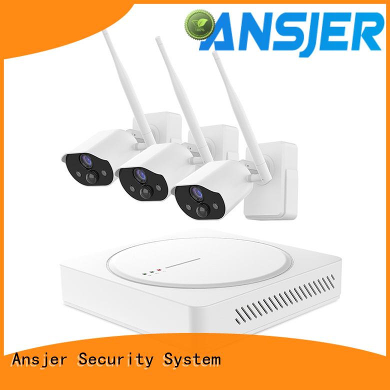 Ansjer cctv system simply smart home security manufacturer for home