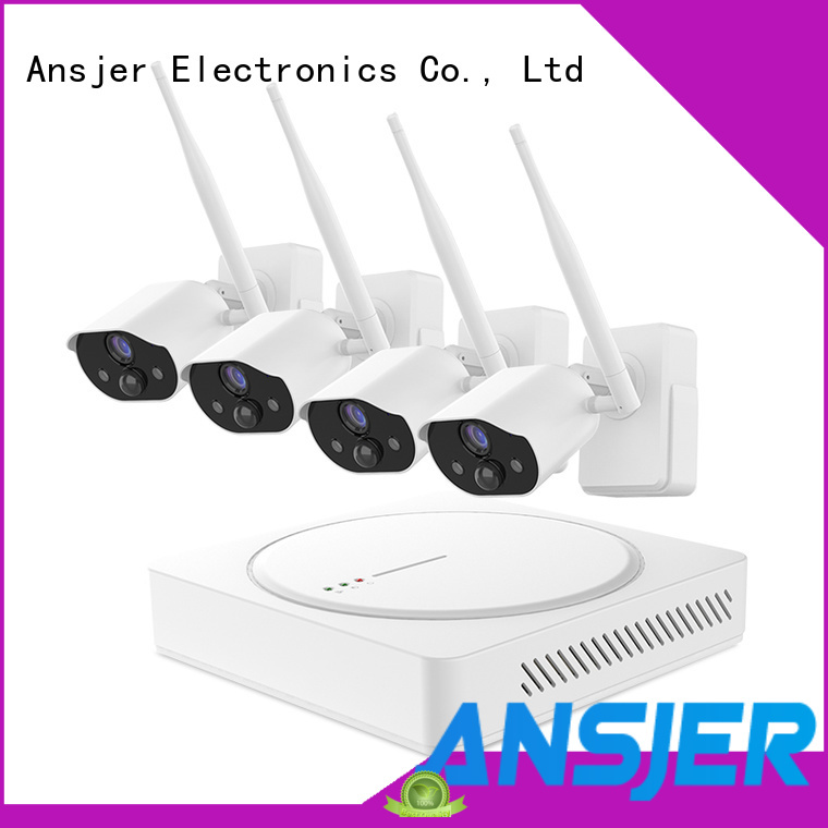 Ansjer cctv thermal smart home surveillance supplier for home