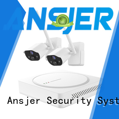 Ansjer cctv high quality smart home surveillance series for indoors or outdoors