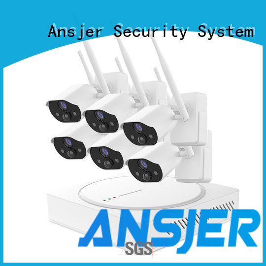 Ansjer cctv cameras smart home surveillance wholesale for office