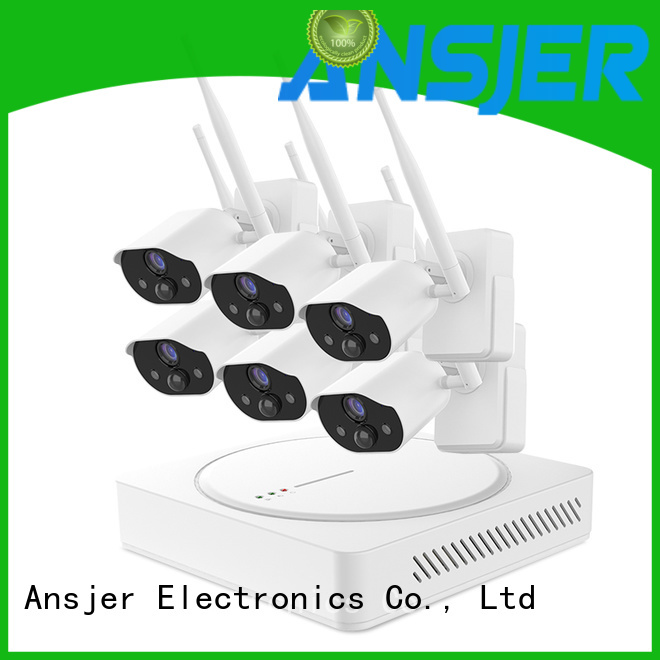 Ansjer cctv best smart home security system wholesale for surveillance