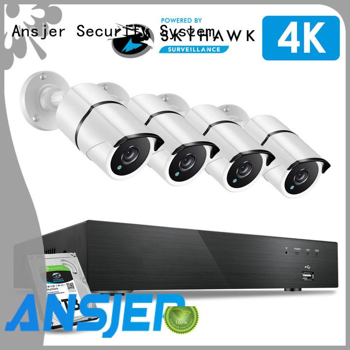4k cctv system cameras manufacturer for office
