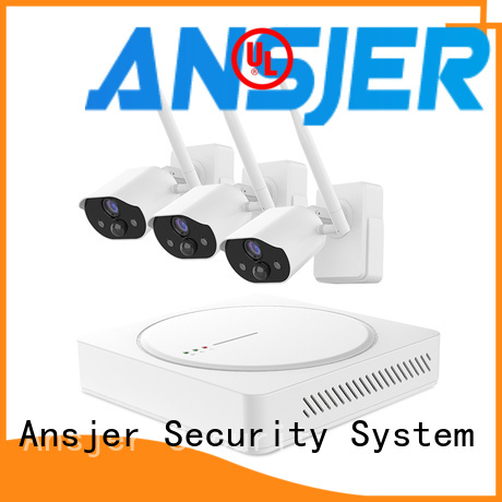 Ansjer cctv security smart home surveillance systems wholesale for office