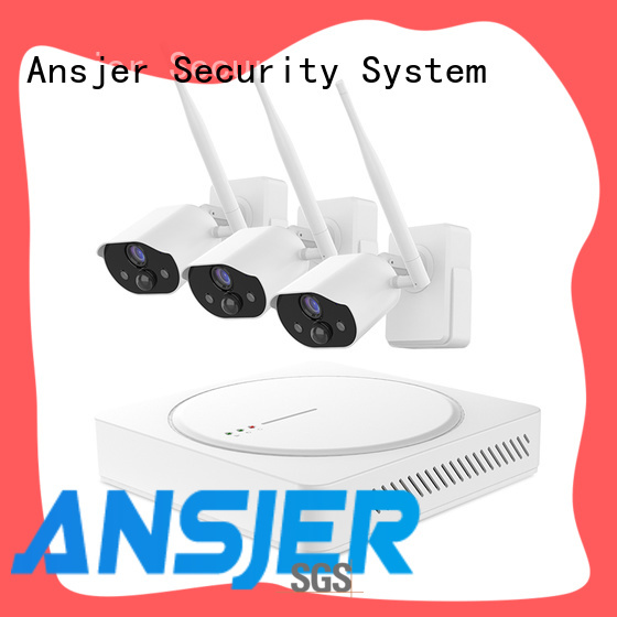 Ansjer cctv durable smart home security system supplier for home