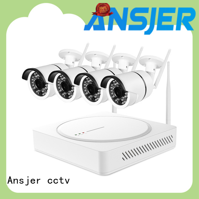 Ansjer cctv durable 1080p wireless security camera manufacturer for indoors or outdoors