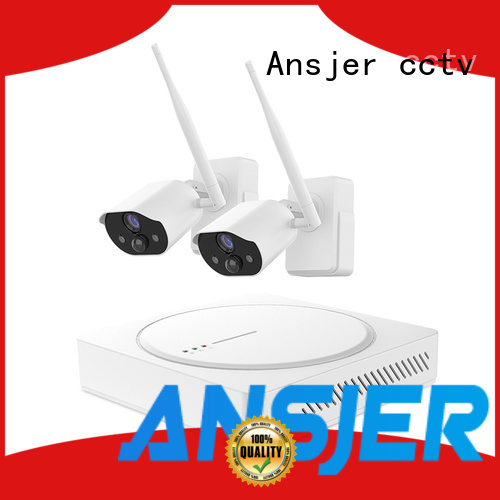 Ansjer cctv wire-free smart home surveillance series for surveillance