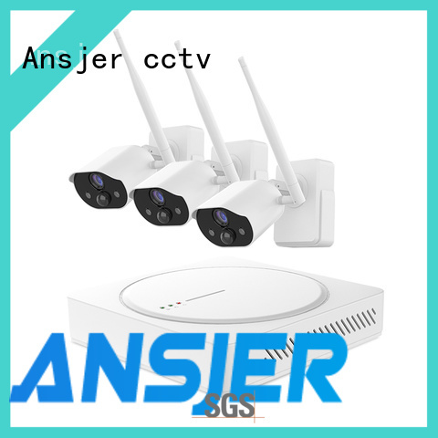 Ansjer cctv wire-free simply smart home security series for home