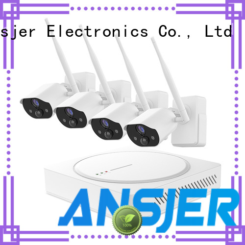 Ansjer cctv high quality smart home security system series for home