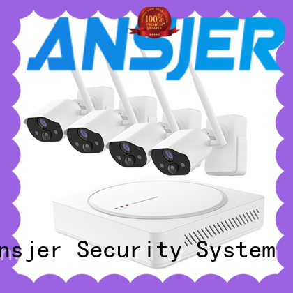 Ansjer cctv smart home surveillance supplier for indoors or outdoors