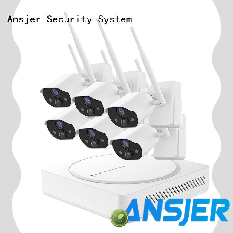 Ansjer cctv wirefree smart home security wholesale for office