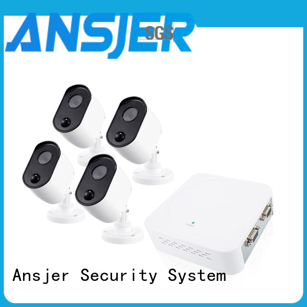Ansjer cctv vision 1080p outdoor security camera system manufacturer for home