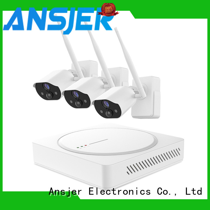 Ansjer cctv high quality simply smart home security manufacturer for surveillance