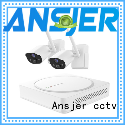 Ansjer cctv wireless best smart home security system supplier for indoors or outdoors