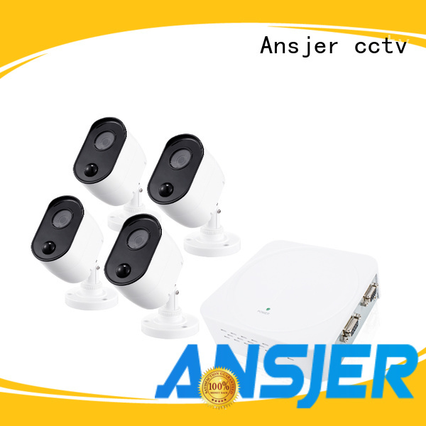 Ansjer cctv best 1080p security camera system series for surveillance