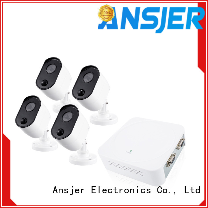 Ansjer cctv outdoor 1080p security system manufacturer for indoors or outdoors