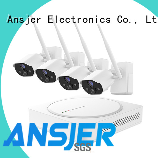 Ansjer cctv security smart home surveillance systems supplier for office