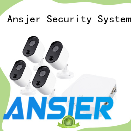 Ansjer cctv durable 1080p surveillance system series for surveillance