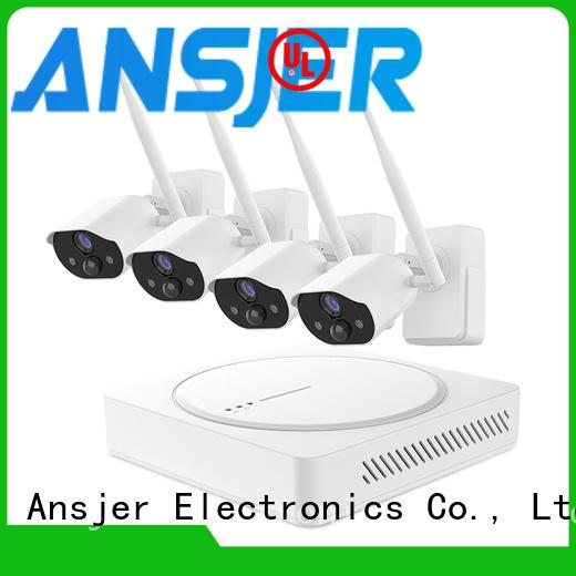 Ansjer cctv security smart home surveillance systems manufacturer for surveillance