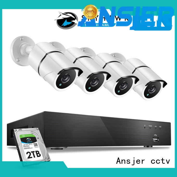 electric 4k cctv system surveillance series for office