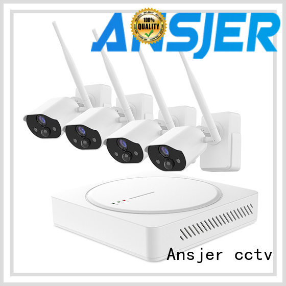 Ansjer cctv installation smart home monitoring system supplier for office
