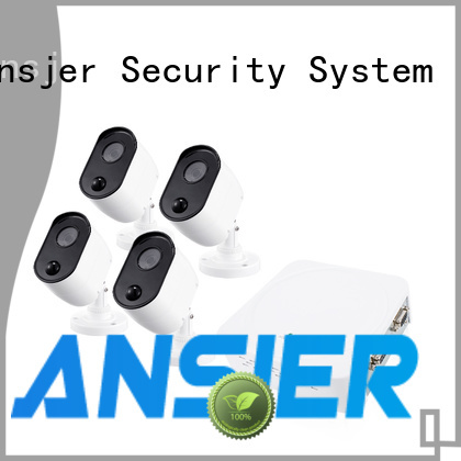 Ansjer cctv durable best 1080p security camera system supplier for home