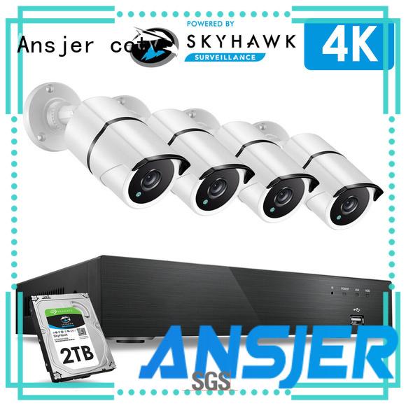 Ansjer cctv internet 4k cctv system manufacturer for office