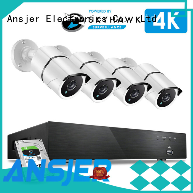 high quality 4k security camera system night wholesale for home