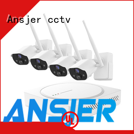 Ansjer cctv free smart home security manufacturer for home