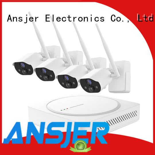 Ansjer cctv high quality smart home monitoring system manufacturer for home