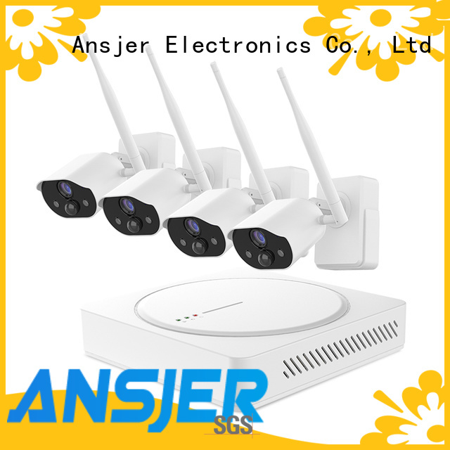 Ansjer cctv high quality smart home security system supplier for home